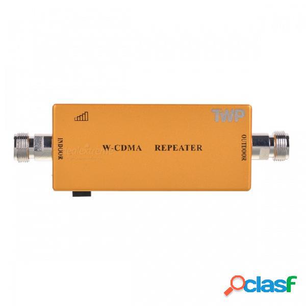 3g / wcdma 2100mhz de doble banda amplificador de señal de teléfono móvil / repetidor de señal de refuerzo