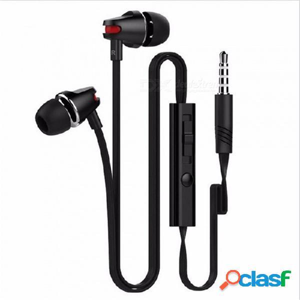 Auriculares ojade de 3,5 mm en auriculares con micrófono y auriculares super estéreo para xiaomi / teléfono móvil / ordenador personal