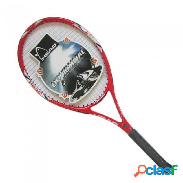 Raquetas de raqueta de tenis de fibra de carbono equipadas con una bolsa de tenis tamaño de agarre 4 1/4 tenis de alta calidad adulto negro