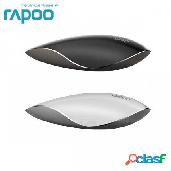 Rapoo t8 5g láser inalámbrico inalámbrico táctil táctil, diseño superior profesional ergonómico negocio mágico ratones para juegos para computadora portátil caja original negro