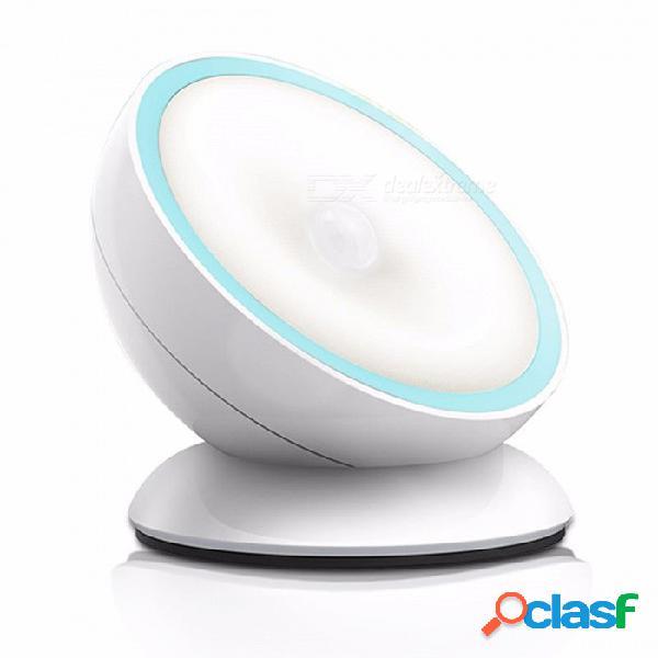 Luz del sensor de movimiento magnético, luz de detección de carga por usb, luz inalámbrica inalámbrica para automóvil de noche led para el armario del dormitorio del pasillo