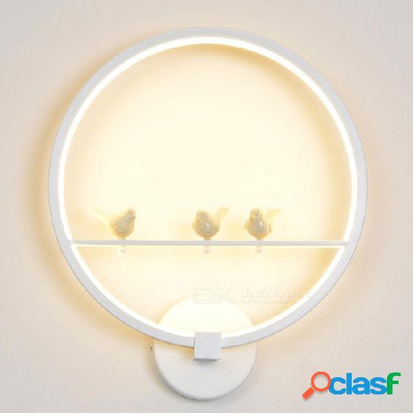 Ygfeel 18w led lámpara de pared, dormitorio creativo moderno al lado de la luz de la pared para sala de estar interior comedor iluminación del pasillo