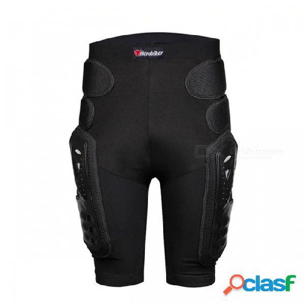Herobiker protector de motocross pantalones cortos para motocicletas pantalones con armadura de protección cadera equitación equipo de carreras