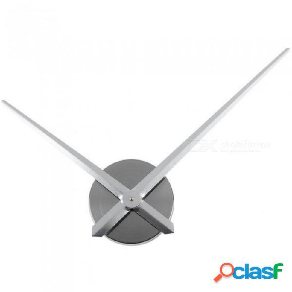 Movimiento de pared de diy mecanismo de movimiento manos piezas de reparación kit de movimiento de reloj de cuarzo colgando piezas de reloj de pared accesorios de pared reloj de pared