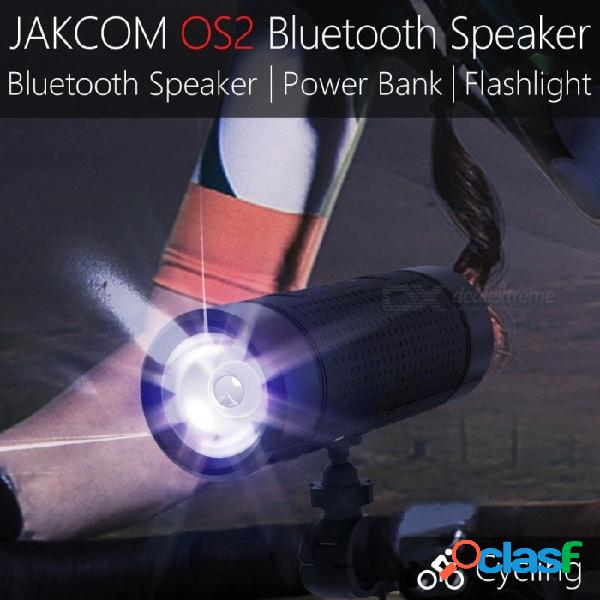 Jakcom os2 altavoces bluetooth portátiles al aire libre nuevos productos 2017 altavoz innovador bluetooth negro / altavoz