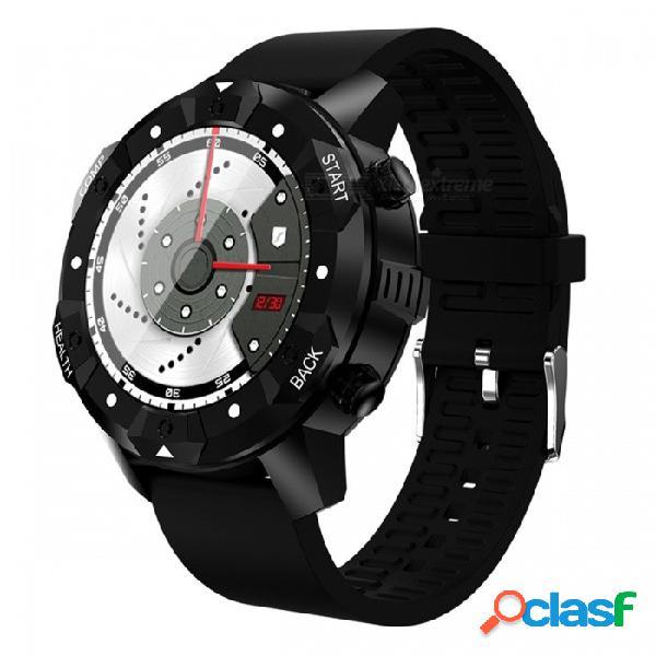 Gps reloj 3g inteligente teléfono con monitor de frecuencia cardíaca, soporte sim wi-fi, 1 gb de ram + 16 gb rom - negro