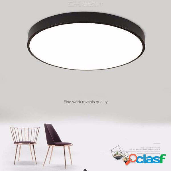 Luz empotrada moderna de 300 mm 18w led de techo, montaje ultra empotrado para el dormitorio del comedor