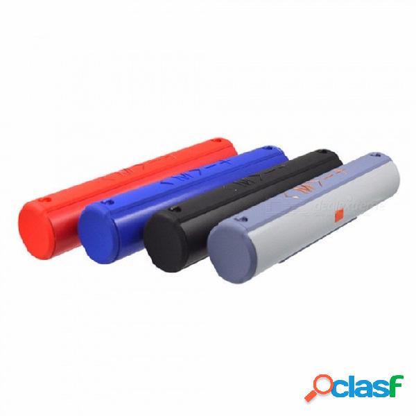 Altavoces inalámbricos bluetooth para teléfonos inteligentes ultra bajos para acampar al aire libre senderismo portátil altavoz boom box negro / altavoz