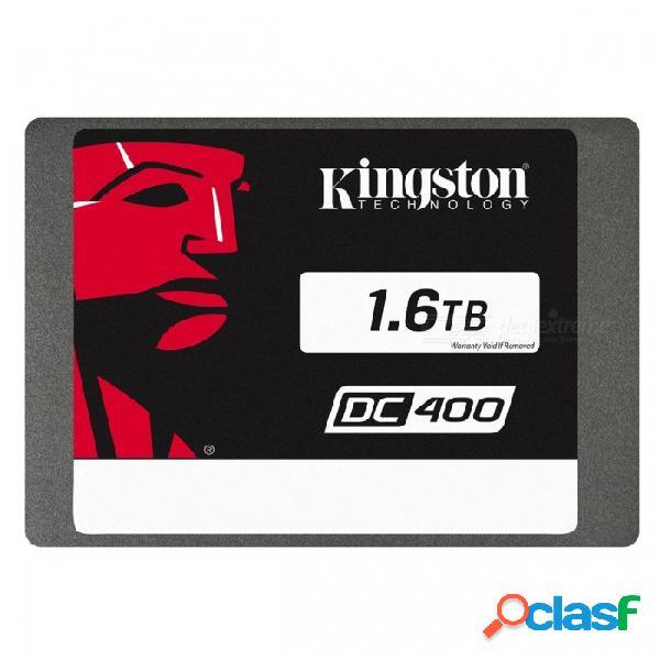 Kingston ssdnow serie dc400 sedc400s37 / 1600g 1600gb ssd, 555mb / s (lectura), 510mb / s (escritura) sata 3
