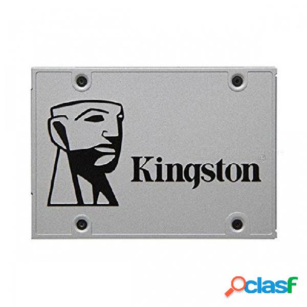 Kingston ssdnow uv400 serie suv400s37 ssd, 550mb / s (lectura), 500mb / s, 500mb / s, 490mb / s, 350mb / s (escritura) sata 3