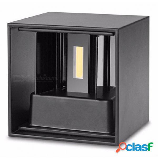 P-top moderno impermeable de 7w blanco cálido / blanco frío lámpara de pared led para iluminación interior y exterior en interiores y exteriores