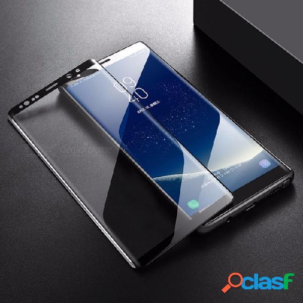 Protector de pantalla de cristal templado curvo 3d cubierto completamente hd para samsung s8, s8 plus transparente / s8 plus