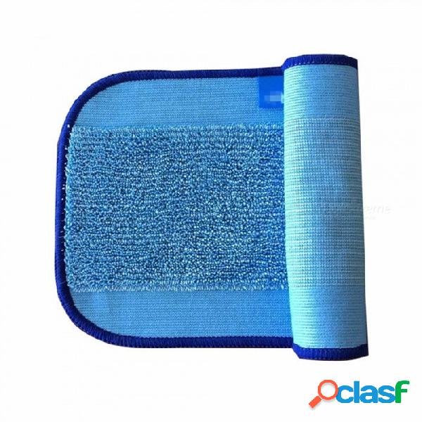 Microfibra pro-limpia trapos de limpieza para braava robot trapeador de suelos irobot braava minit 380t32042005200c (10 piezas) azul