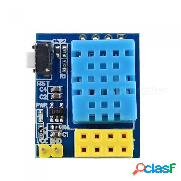 Módulo de sensor de temperatura y humedad digital open-smart dht11 para esp8266 esp-01 esp-01s esp8285 esp-1