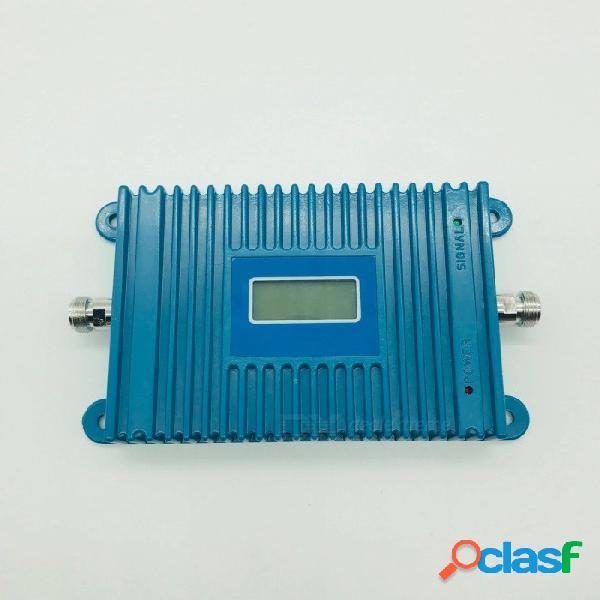 Tamaño pequeño banda lte 800 mhz 20 repetidor de señal del teléfono celular amplificador amplificador kit de antena repetidor de señal del teléfono móvil enchufe de la ue