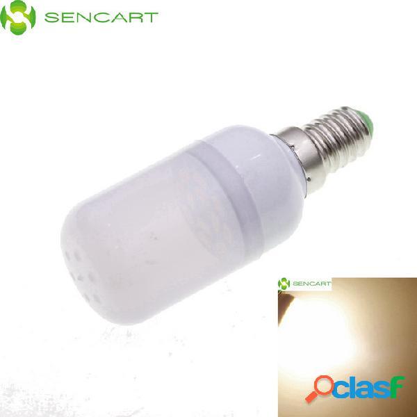 "Sencart e14 1.5w ""120lm"" 3200k 12 x smd 5730 led bombilla de luz blanca cálida - blanco (ac 220 ~ 240v)"