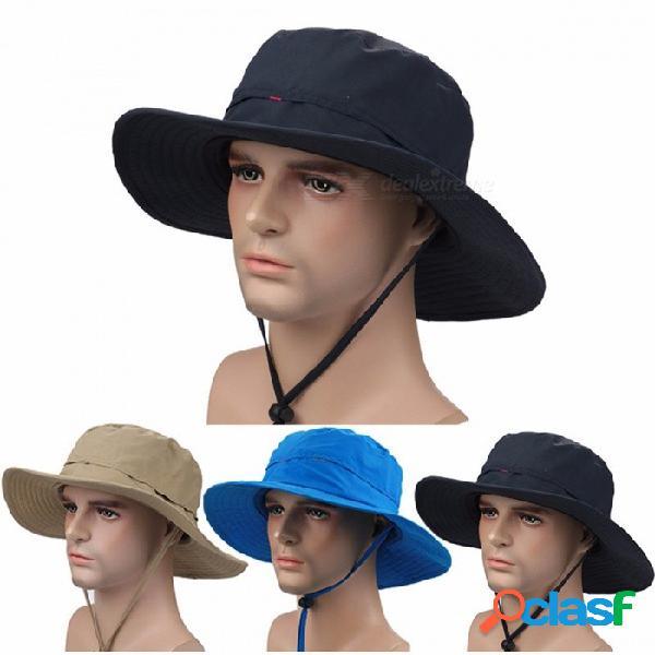 Sombrero del boonie del sol de la pesca de secado rápido, casquillo de protección ultravioleta del verano, sombrero del ejército de la caza / del pescador al aire libre