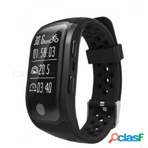 Adorare s908 ip68 impermeable reloj pulsera digital gps con monitor de frecuencia cardíaca, rastreador de fitness deportivo para android ios verde