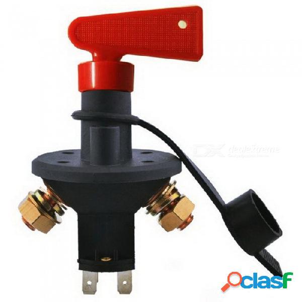Interruptor de batería de automóvil jtron, aislador de interruptor rotativo de yate, interruptor de apagado / desactivación