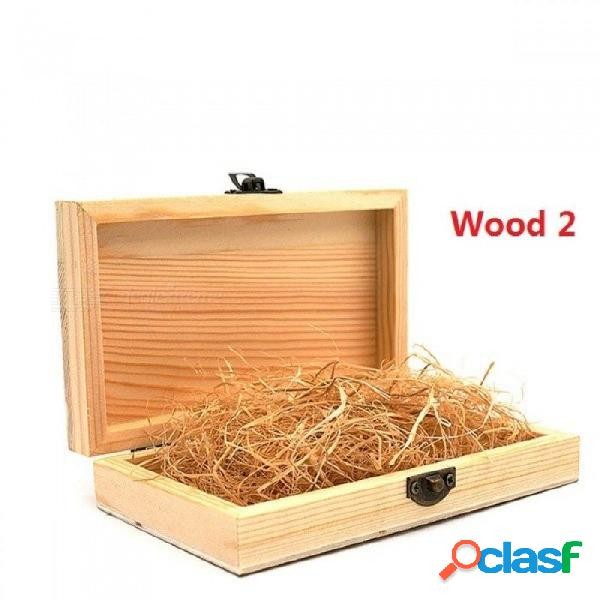 Wood wedding bow ties boxes real wood boxes with lid golden lock wood boxes for gifts caja madera wooden boxes wood 1