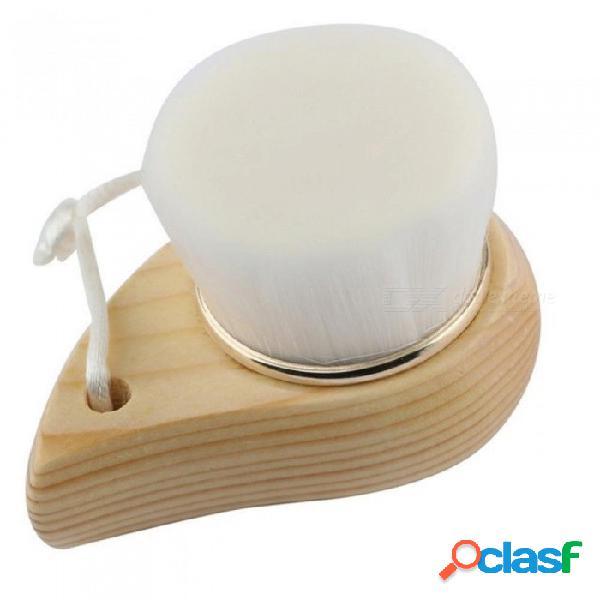 Cara cepillo limpio colada profunda limpieza suave fibra cara suave cepillo de limpieza masajeador cuidado facial piel poro cepillo limpio blanco