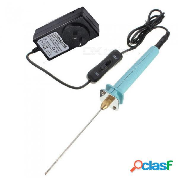 Zhaoyao 10 cm (15, 20, 25) cuchilla de espuma de poliestireno con cuchilla de artesanía con adaptador de transformador de voltaje