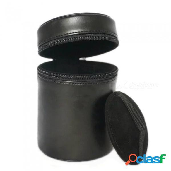 Ismartdigi mm tamaño bk lente de la cámara para todas las lentes de la cámara nikon canon pentax sony olympus - negro