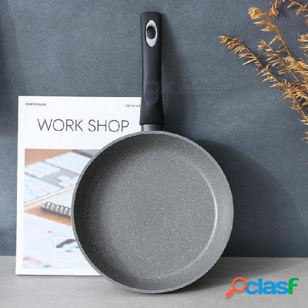 Sartén antiadherente sartén de piedra saludable con sartén wok sartén plana olla estufa aleación de aluminio 24 cm 28 cm 24 cm
