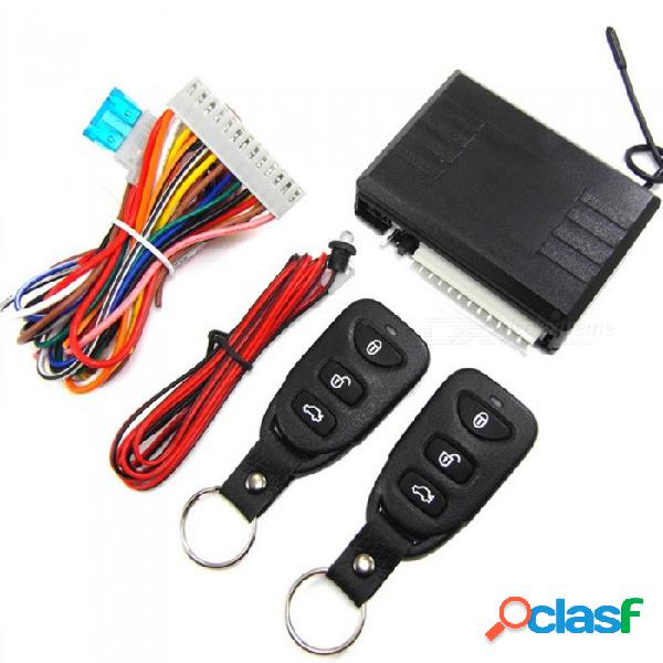 Acceso sin llave del automóvil m616-8113 a la cerradura central con indicador + 2 controles remotos - negro
