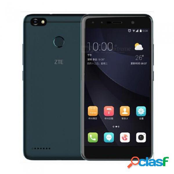 Zte blade a3 android 7.0 4g lte quad-core 5.5 pulgadas teléfono móvil con rom de 3gb ram 32gb, batería 4000mah, huella digital negra