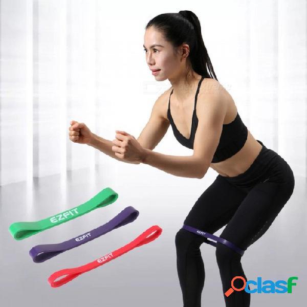 Círculo de la cadera en cuclillas profunda anillo de goma elástico de la resistencia de la cinta elástica cinturón de tensión de yoga