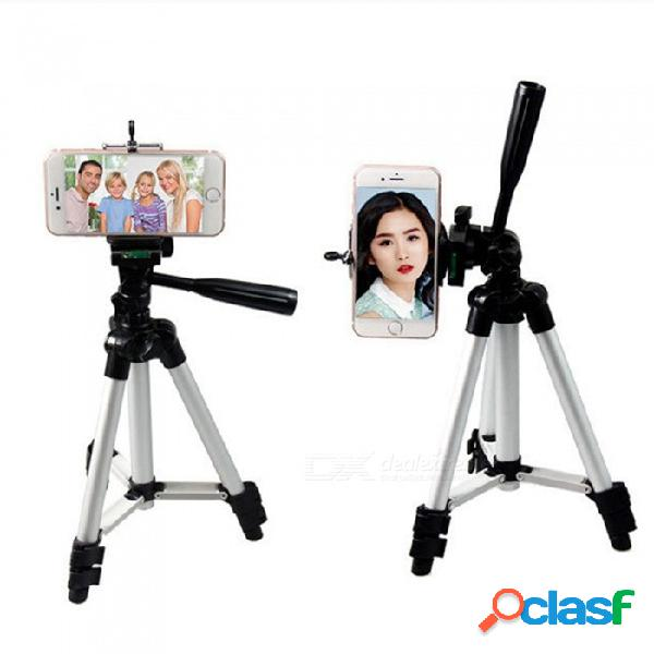ESAMACT Universal De 3 Secciones Trípode Para Cámara Soporte Para Autofotos Para Canon Nikon Sony Selfie Action Camera