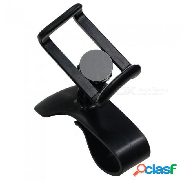 Ángulo de abrazadera de soporte de soporte de soporte hud autoadhesivo de diseño de hud fijo para auto, teléfono móvil, soporte gps, soporte ajustable