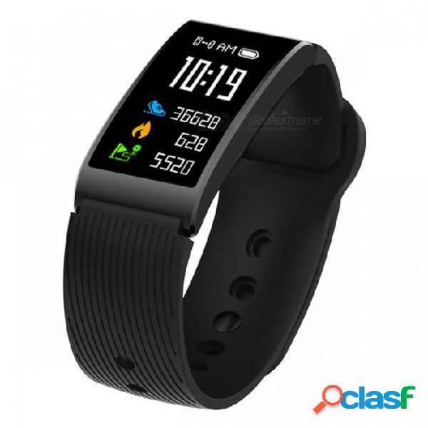 X3 pulsera inteligente ip68 impermeable pulsera bluetooth deportes fitness tracker con monitoreo de ritmo cardíaco, podómetro
