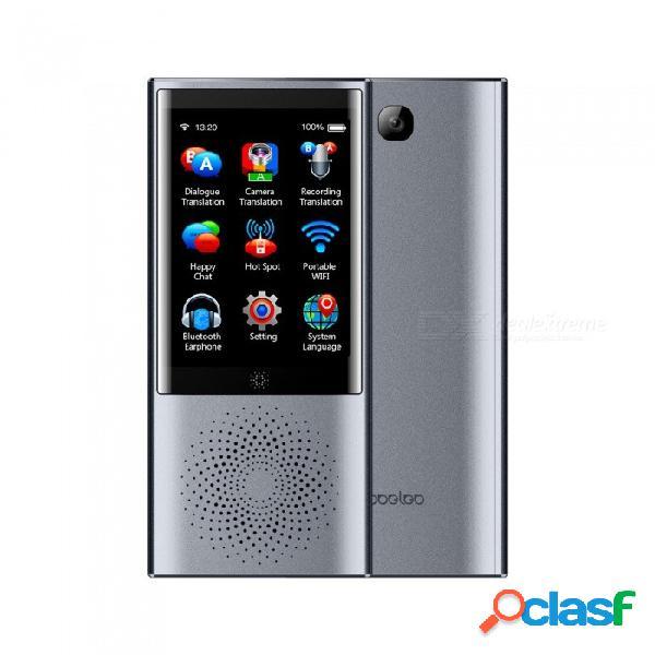 Dispositivo de traducción de idioma por voz instantánea boeleo w1 dispositivo de línea de datos w / 1pc, línea de conmutación, registro de tarjeta, pulsera