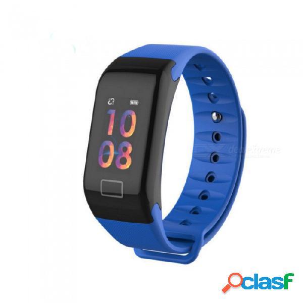 Zhaoyao f1 plus color screen smart bracelet sport pedometer blood pressure heart rate monitor fitness tracker smart band