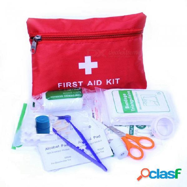 Ziqiao kits de primeros auxilios automáticos de emergencia para el automóvil botiquín de primeros auxilios en el campo