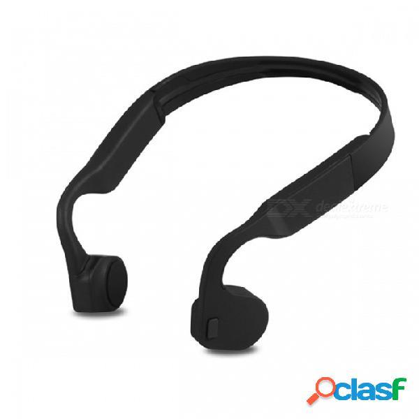 Esamact smart lf-18 bluetooth inalámbrico 4.1 auriculares a prueba de agua neckstrap auriculares estéreo de conducción de hueso nfc auricular manos libres