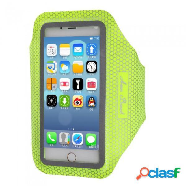 Maletín para teléfono resistente al agua para deportes al aire libre para iphone 7 plus / 6 plus / 6s plus / 8 plus / iphone x