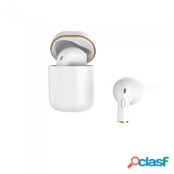 Auriculares bluetooth jedx con compartimiento de carga mini audífonos estéreo inalámbricos in-ear invisibles para nuevos negocios