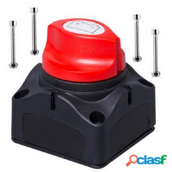 Interruptor de alimentación de la batería del coche 12v / 24v baterías desmontables marinas isolatoe cortado en el interruptor apagado para el yate del coche