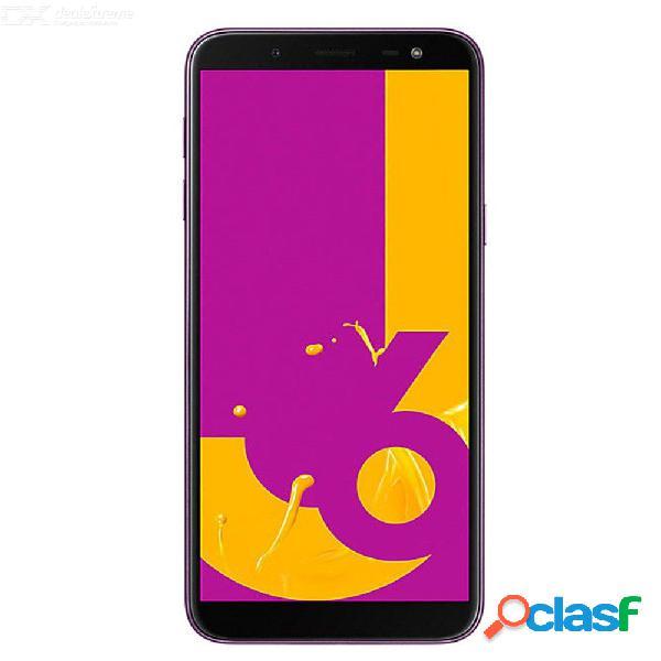 Samsung galaxy j6 j600f 5.6 pulgadas octa-core 3gb ram 32gb rom tarjetas sim dobles teléfono celular