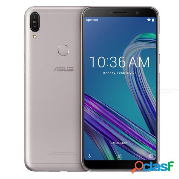 Asus zenfone max pro m1 zb602kl x00td snapdragon 636 teléfono móvil 3gb ram 32gb rom 6 pulgadas 4g lte versión global