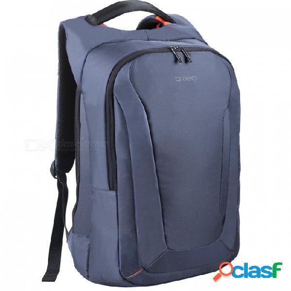 """Dtbg d8205w 15.6 """"mochila de almacenamiento para computadora portátil con puerto usb 2.0 - azul oscuro"""