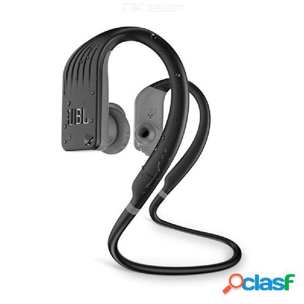 Jbl resistencia salto impermeable gancho para la oreja estilo bluetooth inalámbrico deportes auriculares w / 1pc cable de carga, bolsa