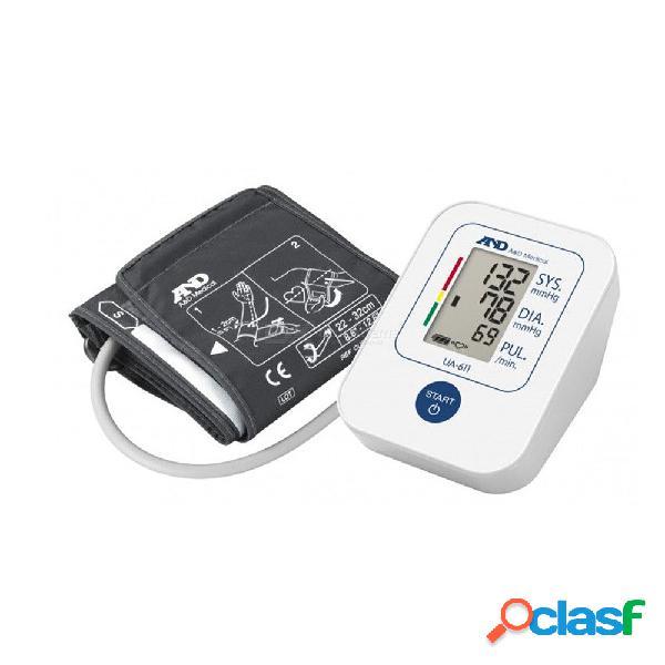 Y el manguito de presión arterial ua-611 para la parte superior del brazo, monitor de presión arterial en el hogar, certificado por esh, baterías incluidas