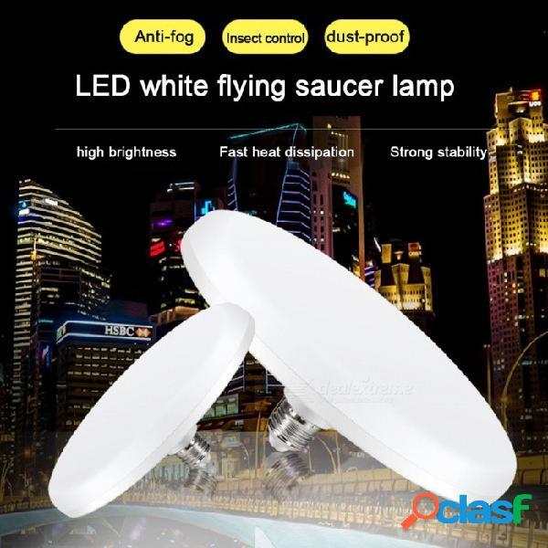 E27 ufo style 36-5630 smd led bombilla 220v luz blanca fría lámpara ahorradora de energía sin parpadeo para iluminación interior blanco frío / 15w / blanco