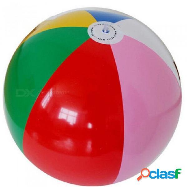 Inflable colorido de la playa de la bola de los globos de la piscina del verano del juego del partido del agua diversión del deporte juguetes para niños adultos regalos de cumpleaños 40 cm 40