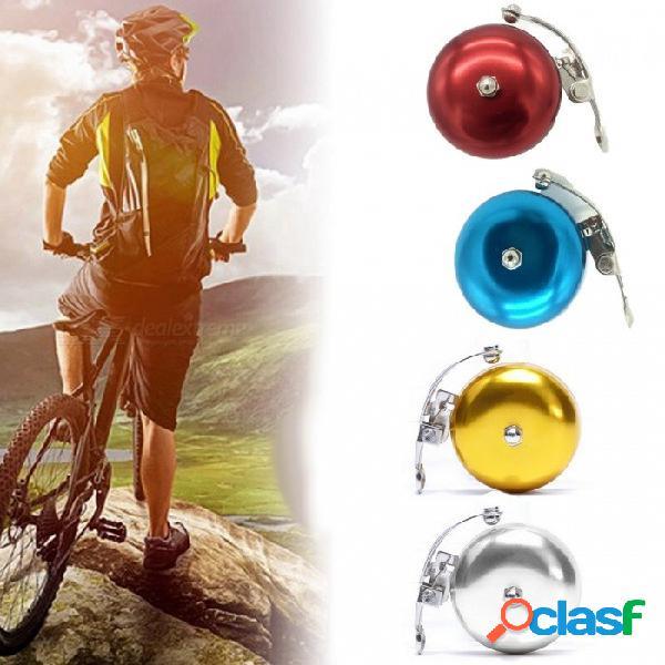 Ciclismo Bicicleta Manillar Anillo De Aleación De Aluminio Bicicleta Campana Sonido Alarma Timbre Protector Anillos Bicicleta Accesorios Oro