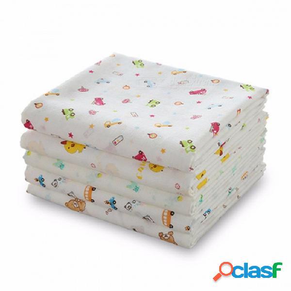 Verano nueva toalla de gasa de algodón de doble capa toallas de bebé toalla de baño de bebé recién nacido toalla de baño manta de chocolate